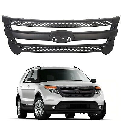 For 2011-2015 Ford Explorer Snap On Grille Overlay Full Front Grill Covers New
