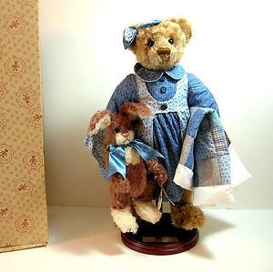 Gund-Collectible-Teddy-Bear-Barton-039-s-Creek-Tosha-amp-Tiggs-Artist-Bear