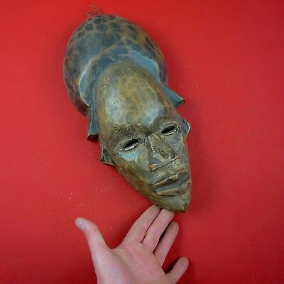 Ancient ritual mask. The Tikar tribe. Cameroon. XVIII-XIX century.