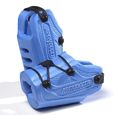 AquaJogger AquaRunners RX POOL Footwear EXERCISE Fitness Resistance Blue AP432