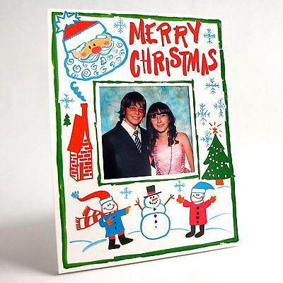PHOTO FRAMES * Holiday Gifts & Party Favors (10 pack of MERRY CHRISTMAS frames) (Holiday Photo Frames)