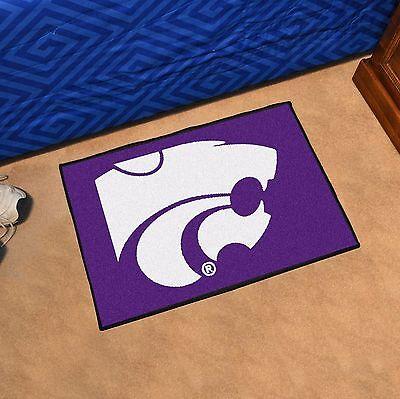 """Kansas State Wildcats 19"""" X 30"""" Starter Area Rug Mat"""