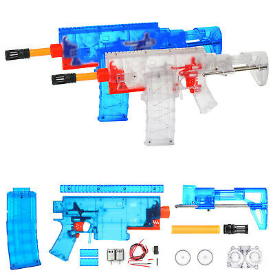 Worker MOD Swordfish Motorized Blaster Rifle Kit Foam Nerf Dart Modify Toy