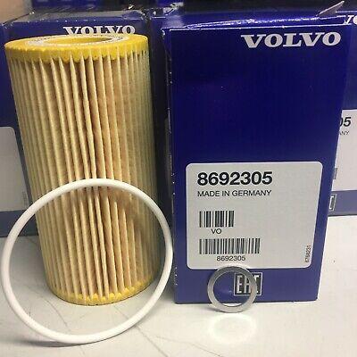 Genuine Volvo Oil Filter 8692305 plus sump washer
