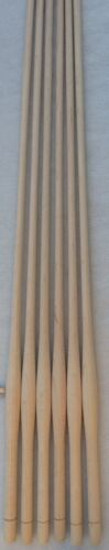 "WOOD CHAIR SPINDLES 30"" high lot of 6 NEW MAPLE BULBOUS TURNED WINDSOR STYLE"