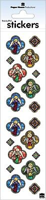 Angels Faith Religious Stickers Envelope Seals Planner Supply Papercraft