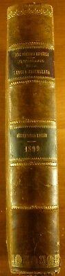 1899 DICCIONARIO de la LENGUA CASTELLANA Real Academia ESPAÑOLA Spanish segunda mano  Embacar hacia Mexico