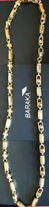 85.6g Baraka & Sauro style designers links gold tone high ends 24