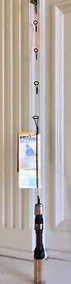 2136 Frabill Ice Hunter 30-Inch Medium Light Ice Fishing Rod Only, White/Orange