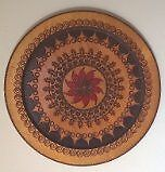 Beautiful Hand Carved Wooden Plate Wall Hangers