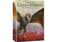 GAME OF THRONES SEASON 1-6 BRAND NEW SEALED UK VERSION! UNWANTED BDAY PRESENT