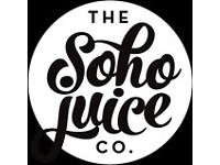 Soho Juice Company – Sales Rep /account manager wanted