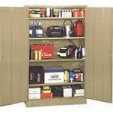 Light duty 4 shelves compact storage cabinets by Edsal