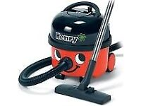USED HENRY HOOVER WITH ALL PARTS(HOSE >BRUSHES>AND BITS)