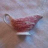 "Royal Staffordshire ""Tonquin"" small sauce boat"