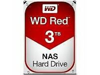 WD 3 TB NAS Hard Drive - Red * 2