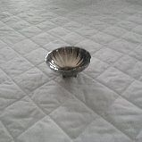 Silver plated footed dish