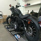 2014 Harley IRON 883 BLACK DENIM - ONLY 228 km's