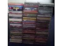 OVER 110 MUSIC CD ALBUMS AND COMPILATIONS/VCDS/DVDS/PC GAMES. OVER 160 ITEMS.