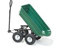Heavy duty garden cart/ dump truck with tipping feature ££79