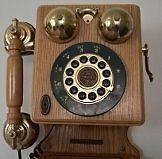 Retro 1927 Thomas Museum Series Wall Telephone