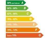 Worcester Greenstar 28i junior Gas combi Boiler Efficiency Ratting A (90.1%)