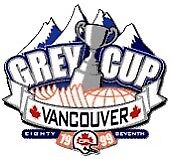 Wanted Vancouver CFL 1999 grey cup crest