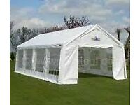 Marquee Hire - Cheap £295 for weekend hire - 4m x 8m Marquee - Woodbridge and surrounding areas