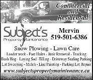 ,Landscape,Weed Control,Excavating,Post holes digging Kitchener / Waterloo Kitchener Area image 1