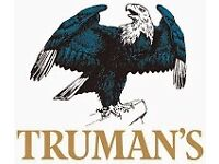 F/T Bar staff, Barista staff wanted for Trumans Pub at London City Airport- Beers,Beigels & Coffee