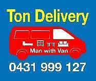 Ton delivery sevice Sydney City Inner Sydney Preview
