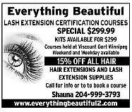 MAKE $500/DAY$ LASH EXTENSION INSTALL COURSE