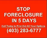 STOP FORECLOSURE WITH ONE PHONE CALL