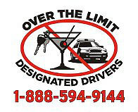 OVER THE LIMIT DESIGNATED DRIVERS NEEDS MORE DRIVERS