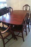 Gibbard Dining Table and Six Chairs