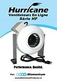 "Ventilateur en ligne ""Donut"" - in-line /fan - HURRICANE"