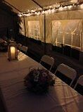 Event tent avail for rent $150/wkend