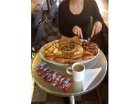 Breakfast Chef required for Busy Guildford Cafe. Full Time Post