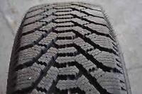 195/60/15 Goodyear Nordic winter tires for sale