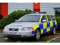 Ex police Volvo V70 T5 , 2.5 Turbo , 300 BHP very fast ! 6 speed manual SWAP