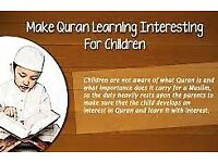 Quran and Arabic tutoring one to one via online