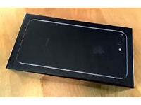 Iphone 7 plus black 32gb on virgin brand new