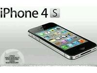 Iphone 4s unlocked black 16gb condition like brand new