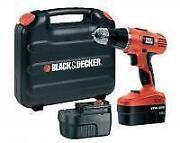 Black Decker Cordless Drill 18V