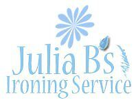 Julia B's Ironing Service. Fast, flexible & reliable local ironing service.