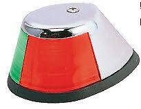 Perko 252 #1 Bi-Color Sidelight Bow Light Chrome 3442