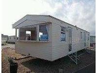 8 berth static caravan for holiday let's