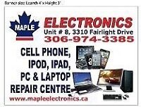 CELL PHONE, IPOD, IPAD, TAB, HOME AUDIO, TV & LAPTOP REPAIR