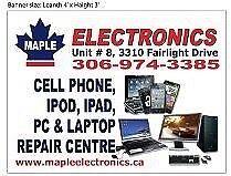 CELL PHONE, IPOD, IPAD, TAB, HOME AUDIO, TV & LAPTOP REPAIR