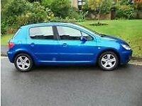 2004 PEUGEOT 307 SE HDI DIESEL 90BHP AUTO CLIMATE, 55 MPG, LONG MOT.